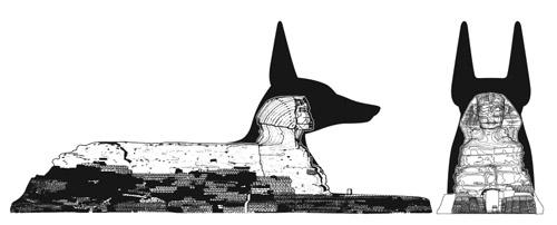 Sfinga ve sv� p�vodn� podob�